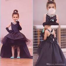 little black audrey hepburn style flower dresses cute high