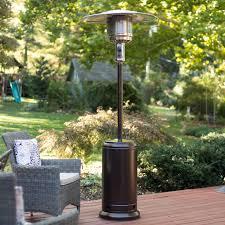 fire sense propane patio heater best patio heater best of fire sense hammered bronze patio heater