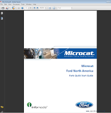 ford north america microcat 2016 parts catalog spare parts