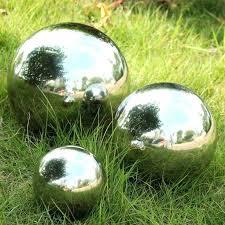 silver garden balls exhort me