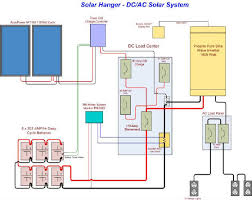 solar system wiring diagram solar wiring diagrams instruction