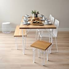 White Oak Dining Room Set - tongariro oak dining table u2013 ico traders