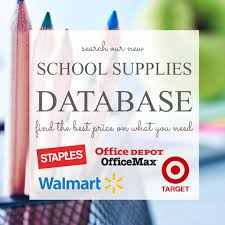 back to sales 2017 walmart target staples office depot