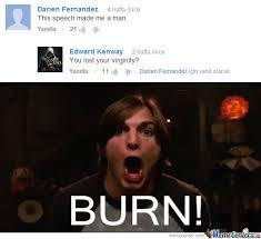 Oh Shit Meme - oh shit burn by crimean meme center