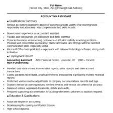 Accountant Assistant Resume Sample by 16 Free Sample Accounting Assistant Resumes U2013 Sample Resumes 2016