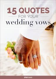 Romantic Marriage Quotes The 25 Best Romantic Wedding Vows Ideas On Pinterest Vows