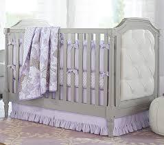 Purple Crib Bedding Set Baby Bedding Set Pottery Barn