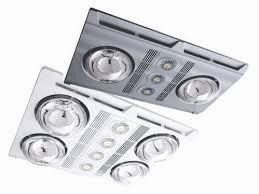 simx manrose designer led heat fan light units
