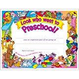 preschool diploma trend enterprises inc preschool diploma 30 ct