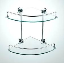 Corner Shelves For Bathroom Bathroom Corner Glass Shelves Toilet Level Corner Glass