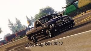2006 dodge ram srt10 stock gta5 mods com