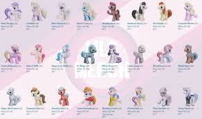 My Little Pony Blind Bags Box Exclusive Wave 19 And 20 Megapost Lots Of Images And Codes