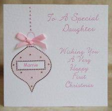 personalised babys card baby cards