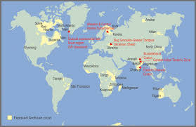 Continents On Map Archaean Granitoids An Overview And Significance From A Tectonic