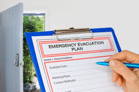 Fire Evacuation Floor Plan Template Are You Prepared For A Disaster Belfor
