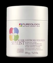 volumizing shoo for color treated hair thick lush hair product set pureology