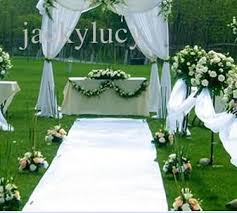 1 2m wide x 10 m roll new wedding favors white carpet aisle runner