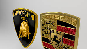 lamborghini logo lamborghini porsche logo 3d model in parts of auto 3dexport