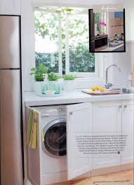 laundry in kitchen ideas washer to decorate with washer u dryer in the kitchen design how