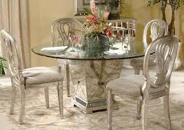 mirrored furniture creating spacious and bright interior design