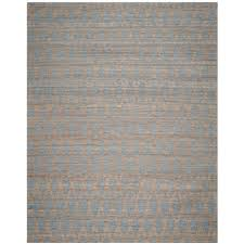 light blue gray safavieh cape cod natural blue 9 ft x 12 ft area rug cap350a 9