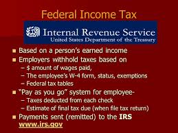 Irs Tax Withholding Tables Taxes U0026 Spending Payroll Deductions 4 01 B U2013 Explain Taxes On