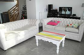 canap chesterfield blanc canape deco cuir awesome le canapé chesterfield blanc diy