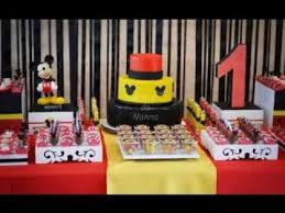 diy mickey mouse party decorations youtube