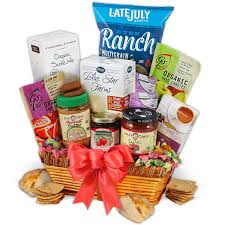 healthy food gift baskets healthy food gift basket by gourmetgiftbaskets