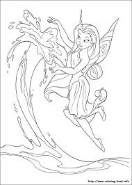 coloring fabulous tinkerbell color coloring pages 22