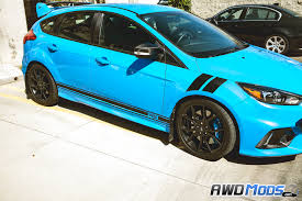 ford focus ford focus rs st rocker stripes decal kit by revo designs