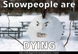 Snowman Meme - snow people are dying snowman memes pinterest snow snowman