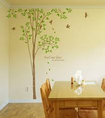 Removable Wall Decals For Nursery Tree Birds Wall Decals Nursery Wallstickery