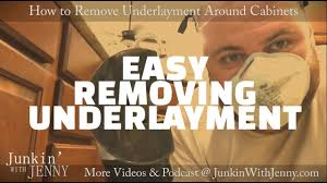 how to cut tile around cabinets how to cut underlayment subfloors around cabinets