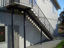 hoss lee steel stairs commercial precast concrete stairways