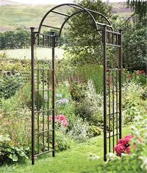 Wedding Arch Garden Continental Iron Garden Arches Patio Door Garden Decoration Silk