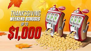thanksgiving slots bodog thanksgiving slots bonus promotion best online casino