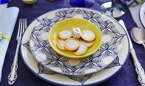 hanukkah tableware ali s stylish hanukkah decorations