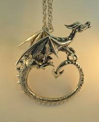 dragon jewelry necklace images Dragon circle dragon neckpiece jewelry jpg