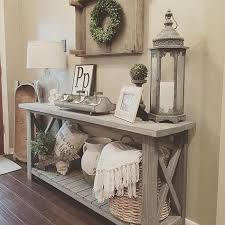 Hall Table Christmas Decoration by Best 25 Console Table Decor Ideas On Pinterest Foyer Table