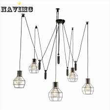 industrial pulley pendant light nordic industrial pulley pendant lights fixture american creative