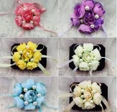 Wrist Corsage Prices Compare Prices On Purple Silk Wrist Corsage Online Shopping Buy