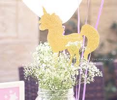 Table Centerpieces Ideas Kara U0027s Party Ideas Starry Unicorn Birthday Party Kara U0027s Party Ideas