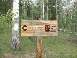 Colorado Travelers Check images Leave no trace care for colorado jpg