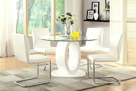 White Dining Table And Coloured Chairs White Dining Room Table Sets Jcemeralds Co