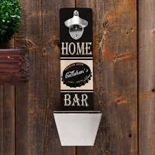 personalized wall mounted bottle opener for groomsmen gifts