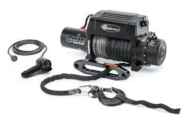 quadratec q9500is stealth winch with dyneema synthetic