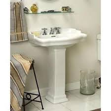Rough In For Pedestal Sink Pedestal Sink Ebay