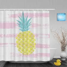 Pink Gingham Shower Curtain 100 Etsy Shower Curtain Octopus Shower Curtain Etsy Curtain