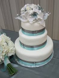Winter Wedding Cakes Silver And Pale Blue Winter Wedding Cake U2013 Rexburg Cakes